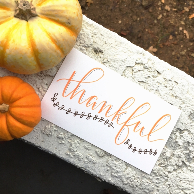 thankful november grateful lettering quotes